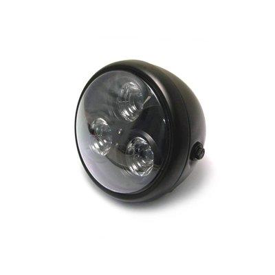 "MCU 6.75"" Cyclops Headlight Black"