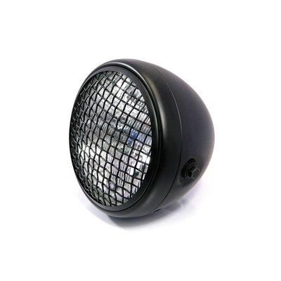 "Motorcycles United 7.7"" Scrambler Headlight Black"