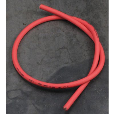 Silicon Spark Plug Cable Red