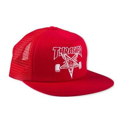 Thrasher Skategoat - Mesh Cap Red