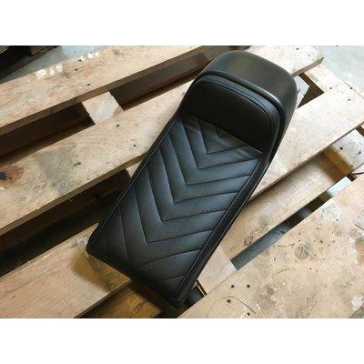 """Cafe Racer Seat Black Vintage """"V For Vendetta"""" Type 57"""