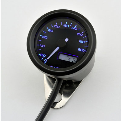 Daytona 48MM Velona Speedo Black 200 KM/H
