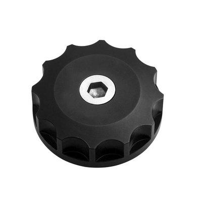 Motone Engine Oil Filler Cap - Billet - Black