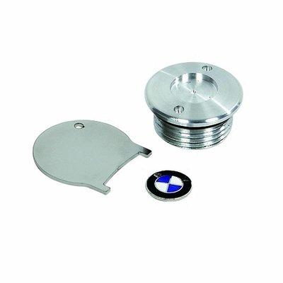 Oil filling plug with emblem enamelled for all BMW R2V Boxer models