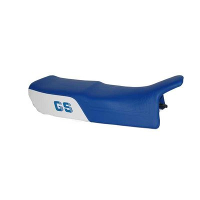 Double seat GS Paralever,white-blue, high with LOGO