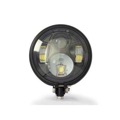 "MCU 5,75"" CREE LED Bates Style Headlight Bottom Mount"