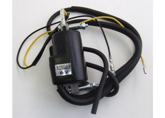 6 Volt Ignition Coil : Ignition coil volt twin lead motorcycles united