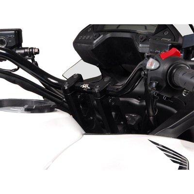 LSL 22MM X-bar Risers 127KX25SW 2 Bolts Black for Fatbar