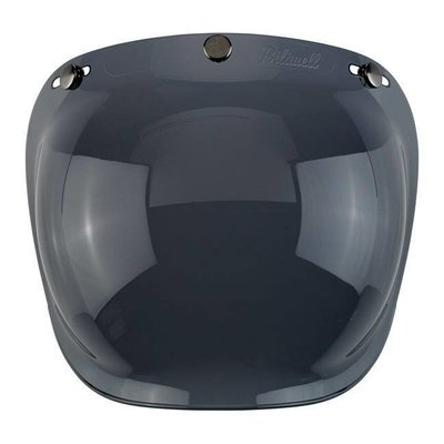 Biltwell Dark Smoke Bubble Visor