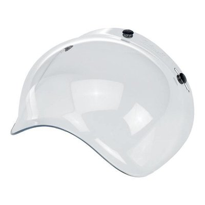 Biltwell Smoke Clear Bubble Visor