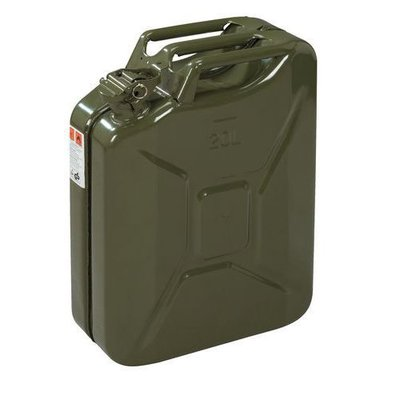 101 Jerrycan 20 Ltr Army Green