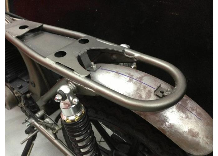 """1"""" Cafe Racer Loop 237mm Steel"""