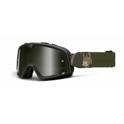 100% The Barstow Legend Camo Green Goggle