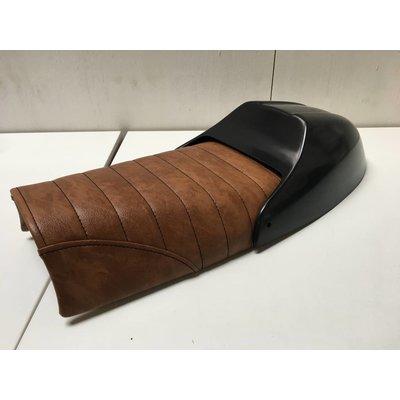 Scrambler Seat Tuck 'N Roll Brown 7