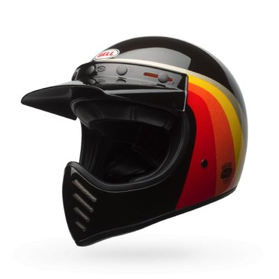 Bell Moto-3 Chemical Candy Black/Gold