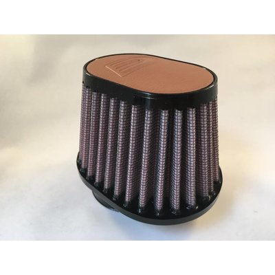 DNA 44MM Oval Filter Leather Top Light Brown