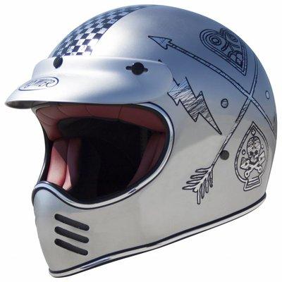Premier Trophy MX Helm NX Chromed