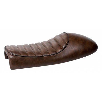 Motorcycles United Tuck N' Roll Cafe Racer Seat Brown 15