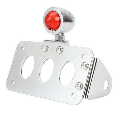 Side Mount + Lighting Type Bullet Chrome