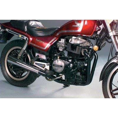 MAC Exhausts Kawasaki KZ400/440 2-Iinto-1 exhaust megaphone black/chrome