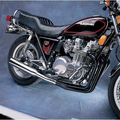 MAC Exhausts Kawasaki KZ650/750 4-Into-1 Exhaust Megaphone Black/Chrome