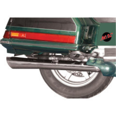 MAC Exhausts Honda GL 1200 Muffler Megaphone Rolled Tip Slash Cut