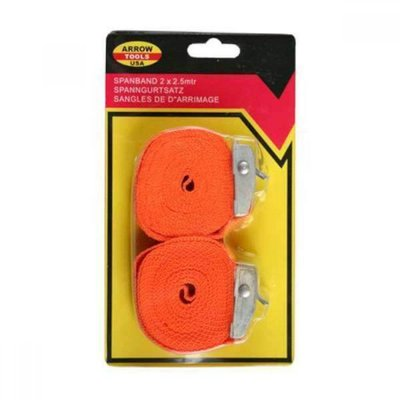 Ratchet Tie Down 2 X 2.5 M Orange