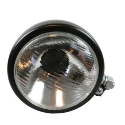 Universal Headlight 160 MM BLACK