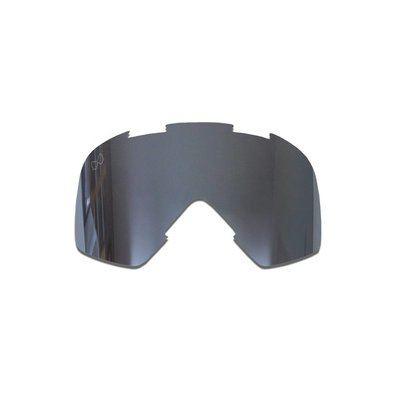 SMF Mariener Moto Goggle Replacement Lens Dark Silver
