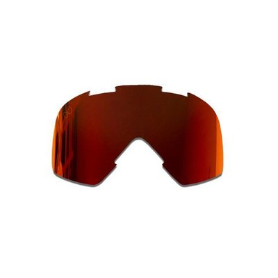 SMF Mariener Moto Goggle Replacement Lens Red Lava