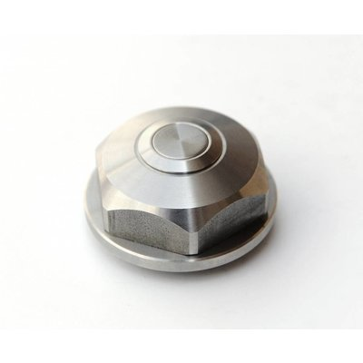 RCO BMW Center Top Nut - Push Button - Stainless Steel