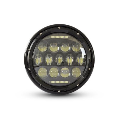 "MCU 7"" Multi Projector LED Headlight Black"