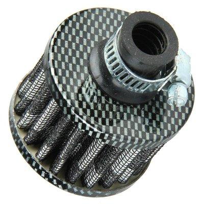 Mini Filter 12MM Carbon Look
