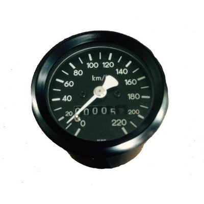 48MM Black BMW Speedo