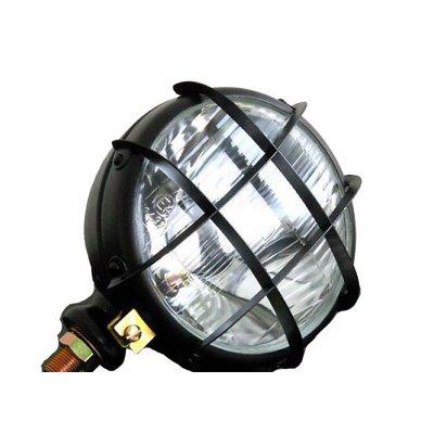"5.75"" Scrambler Headlight with Bottom Mount Black"