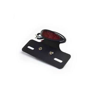 LED Red Taillight with License Plateholder