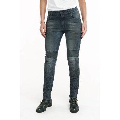 Pando Moto Women Rosie Navy Kevlar Pants