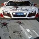 AUDI R8 LMS / PH RED BACK SPIDER