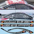 OPEL ASTRA V8 / ZUSATZ u. SOCKEL Zandvoort 2001
