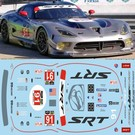 DODGE VIPER - SRT #91 (blue) - IMSA 2014
