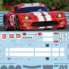 DODGE VIPER - SRT #91 (red) - IMSA 2014