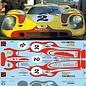 PORSCHE 917 / HIPPY YELLOW / RED