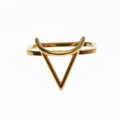 SABRINA DEHOFF Ring TRIANGLE OF WISDOM
