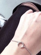 MARIA BLACK MARIA BLACK - Armband MINI TUSK Silber