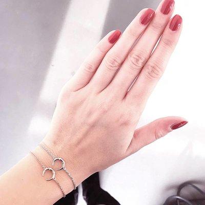 MARIA BLACK Armband MINI TUSK Rose
