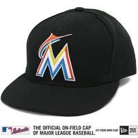 New Era Miami Marlins Cap (+ free Cap Buddy)