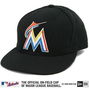 New Era Miami Marlins Cap (+ gratis Cap Buddy)