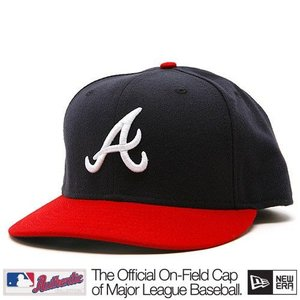 New Era Atlanta Braves Cap (+ free Cap Buddy)