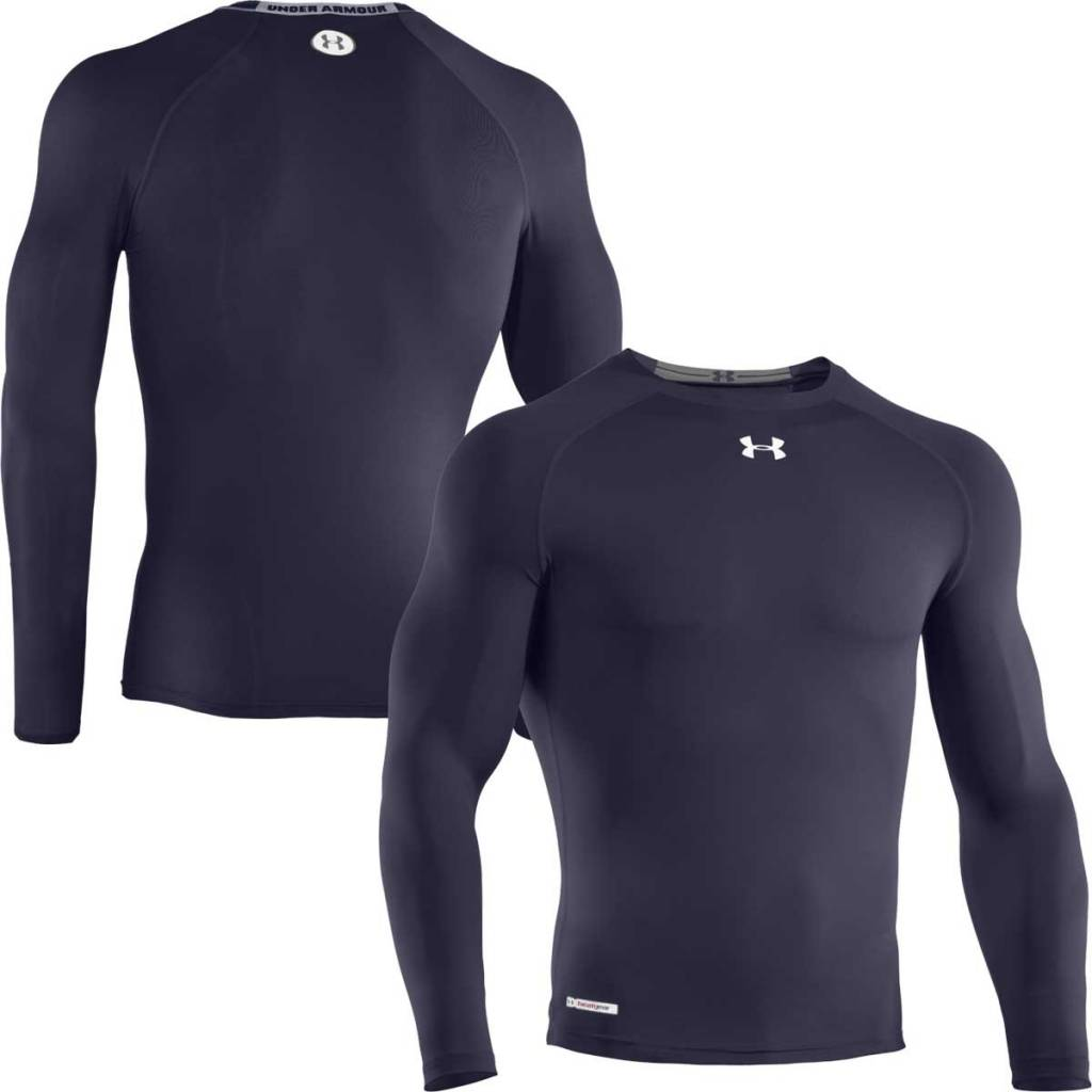 Heatgear sonic compression top eastpro sporting goods for Under armour heatgear white shirt