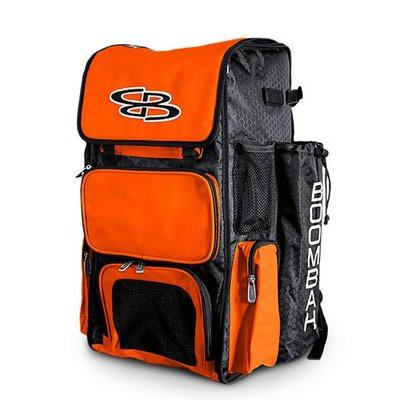Boombah Orange Backpack